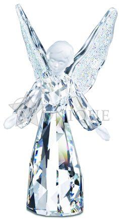 Swarovski Crystal: Angel Figurine - Unique Gifts