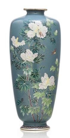 A  Cloisonne Enamel Vase  - Meiji Period. If I could afford this incredible vase, this too would be in my dream house.