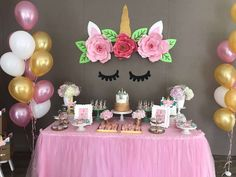 Unicorn Birthday Party Ideas | Photo 9 of 36