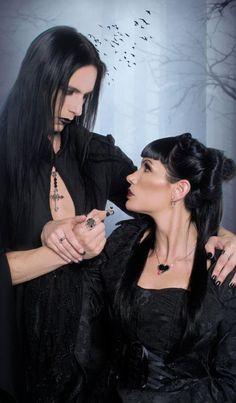 #Goth couple Gothic Men, Dark Gothic, Victorian Gothic, Gothic Lolita, Dark Fashion, Gothic Fashion, Goth Guys, Goth Look, Dark Beauty