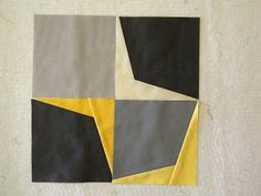 How to make the awesome boomerang quilt!