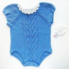 Ravelry: Tirildrakt/Tirilbody pattern by Tina Hauglund Baby Barn, Summer Baby, Little Ones, Romper, Knitting Patterns, Knit Crochet, Ravelry, Bodysuit, Short Sleeves