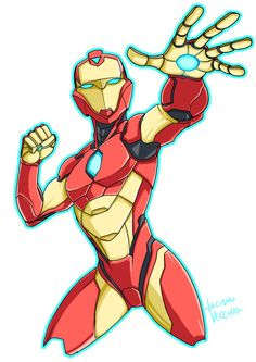 Invincible Ironheart by LucianoVecchio on DeviantArt