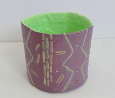 One-Off Purple Vase by Kelly Lynn Jones on Little Paper Planes $75