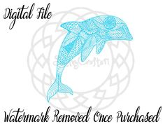 A personal favorite from my Etsy shop https://www.etsy.com/listing/474338795/sale-svg-dolphin-dolphin-svg-cricut