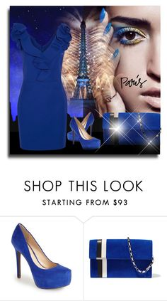 """Paris Blues"" by itsablingthing ❤ liked on Polyvore featuring Paul Frank, Jessica Simpson, Tomasini, Lanvin and fallgetaway"