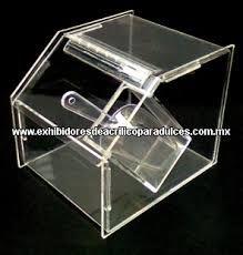 Resultado de imagen para recipiente en acrilico para chocolateria