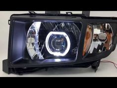 2006-2014 Honda Ridgeline Black Halo Projector Headlights. We build the best and high performance led headlights for any ridgeline truck.