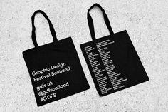 Graphic Design Festival Scotland 2016 Identity