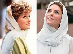 Princess Diana and Princess Kate...I do believe they are made from the same mold of class.  William did well.