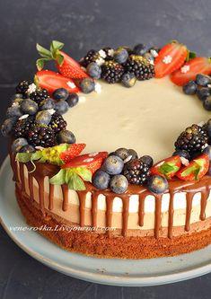 торт без выпечки Вкусная пауза