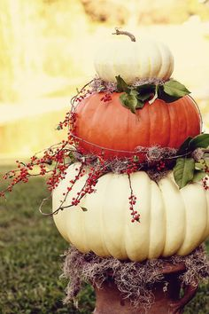 Cool decor idea for thanksgiving!