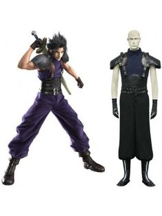 Final Fantasy VII Seven Last Order Zack Cosplay Outfits Costumes