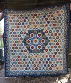 The Great Hexagon Quilt - Along: Stars in the Loft