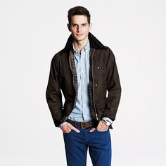 Barbour Sylkoil Bedale Jacket $379.00