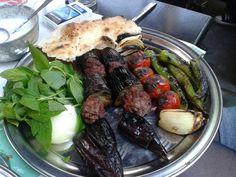 Patlıcanlı Kebap / Kebab with Eggplant