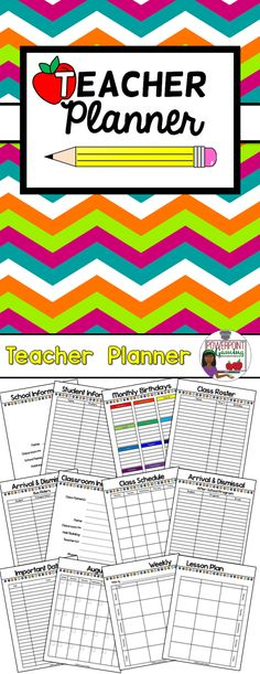 Need a planner for the new year that easy to use and can print from home without much color ink? Here a Teacher Planner to plan your entire school year. This includes various sheets such as class roster, student information, arrival & dismissal, and the all important monthly calendar and weekly lesson planner. Comes in 2 version to help you to get it made professional at Staples or OfficeMax/Depot. Extra licenses are $3.00.