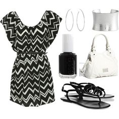 """black and white"" by peter376 on Polyvore"