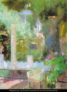 Garden of Sorolla house - Joaquin Sorolla y Bastida