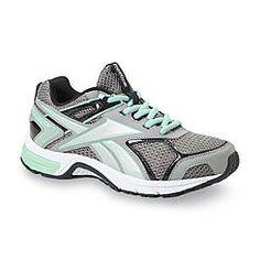 Reebok Women's Quickchase MemoryTech Gray Running Shoe - Wide Width