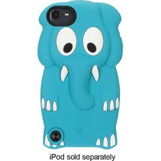 Blue Elephant Ipod Touch 5th Generation case. I have this and Iy also perfectly matches my new iPod!!! It's adorbs....<3