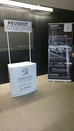Otro #proyecto entregado con la mejor #calidad en Peugeot Interlomas !  Descarga nuestra #AppMovil para cotizar tus #promocionales en www.promomejia.com