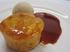 Tarta de Manzana con Helado de Canela en Primus Valencia.