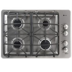 GE Profile 30 in. Deep Recessed Gas Cooktop in Stainless Steel with 4 Burners-PGP943SETSS - The Home Depot