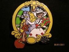 Disney Classic Mary Poppins and Fox Mary Poppins Pin LE 2000