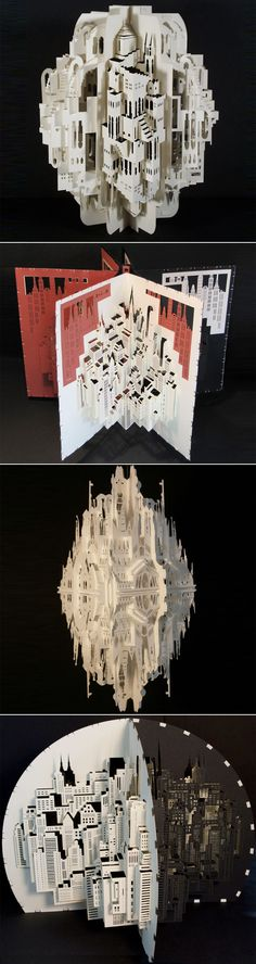 PAPER ARCHITECTURE BY INGRID SILIAKUS