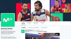 Movistar+ estrena los perfiles de Movistar Basket en Twitter y Facebook
