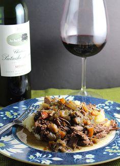 Bordeaux Braised Beef #winophiles Recipe on Yummly. @yummly #recipe