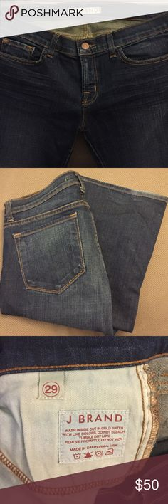J Brand Dark Vintage Jeans - Bootcut - Sz 29 Stretch Bootcut jeans, size 29. Low rise. Like New Condition. 98% Cotton and 2% Spandex. J Brand Jeans Boot Cut