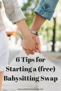 Tips for Starting a Successful Babysitting Swap (Free Babysitting!) #datenight #babysitting #momtips