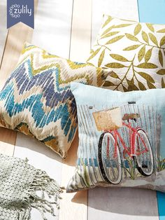 Discover hundreds of home decor items at prices off retail! At zulily you'll find something special for every room in your home! Stenciled Pillows, Decorative Pillows, 20x20 Pillow Covers, Duvet Cover Sets, Decorating Your Home, Interior Decorating, Cozy House, Home Decor Items, Home Furnishings