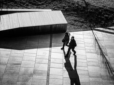 two and their shadow by fotoschalk