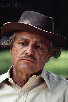 Marlon Brando como Vito Corleone en una escena de El Padrino (The Godfather).