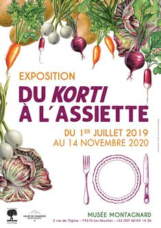 """Exposition """"Du korti à l'assiette"""" - Guides du Patrimoine Savoie Mont Blanc Service, Plants, Mont Blanc, Plate, Radiation Exposure, Fine Dining, Plant, Planets"""