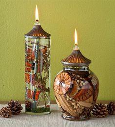 Lifetime Oil Candles
