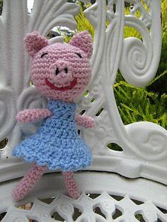 A Beautiful Ramble: Amigurumi Pig - Free Crochet Pattern!