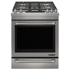 "Jenn-Air 30"" Dual­Fuel Range with pro style handles and baking drawer JDS1450DS"