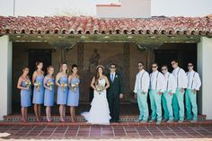 Taylor Kinney's brother gets married at the adamson house in malibu