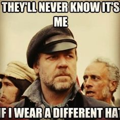Javert, Master of Disguise.