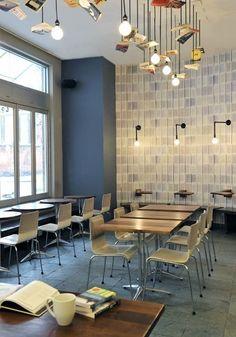 McNally Jackson Cafe Seating Area