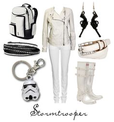 Storm Trooper - I love this website of character themed outfits!