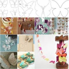 DIY Beautiful Butterfly Decoration from Templates thumb