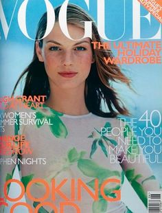 June 1999        Editor Alexandra Shulman      Cover Tom Munro      Model Angela Lindvall    Vogue pays tribute to former editor Elizabeth Tilberis, with tributes from Patrick Demarchelier, Bruce Weber, Arthur Elgort and Albert Watson.