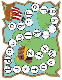Early Learning Pirate Themed Games & Activities from Selma Dawani… Preschool Pirate Theme, Pirate Activities, Pirate Games, Preschool Themes, Alphabet Activities, Preschool Prep, Map Activities, Classroom Themes, Classroom Activities