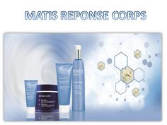 Matis Réponse Corps: The body is often neglected when compared to all the care we give to our face. Matis Paris allies technical know-how, efficiency and pleasure by offering 14 targeted cares which meet the essential beauty needs in the body beauty care.