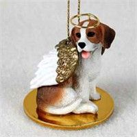 Beagle Christmas Ornament Angel: Nothing beats the exceptional look and quality of our Beagle… #PetProducts #PetGifts #AnimalJewelry